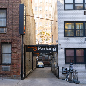 parking on East 38th St in New York