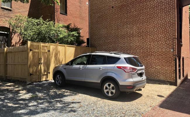 Outside parking on 15th Street Northwest in Washington