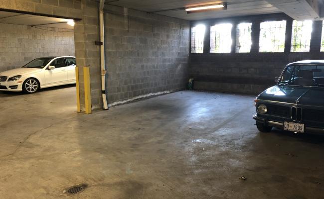 Garage parking on 26th Street Northwest in Washington