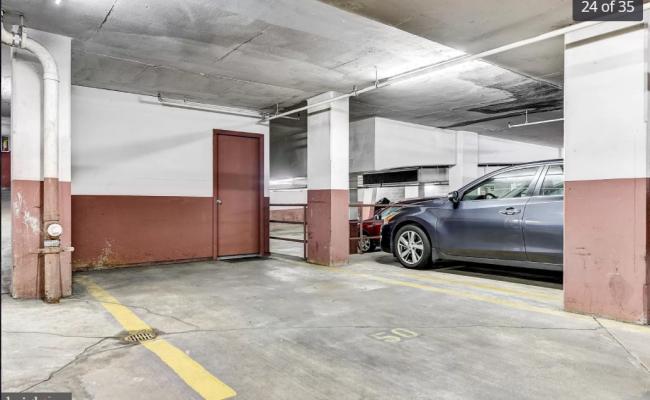 Indoor lot parking on 26th Street Northwest in Washington