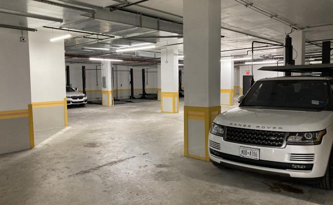 Garage parking on 62-98 Woodhaven Boulevard in Queens