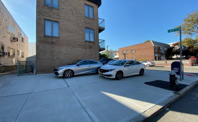 Carport parking on 76-16 69th Road in Queens