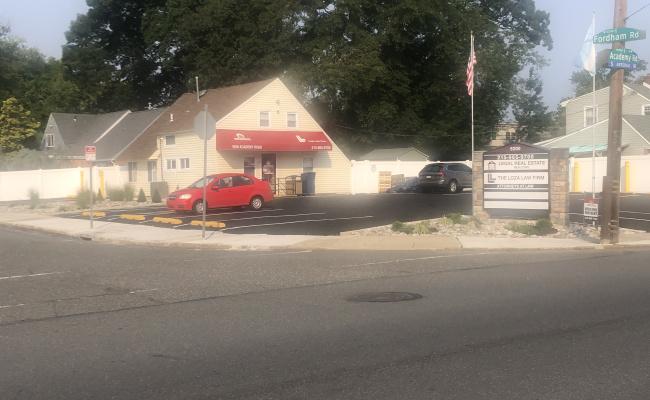 Outdoor lot parking on Academy Road in Philadelphia