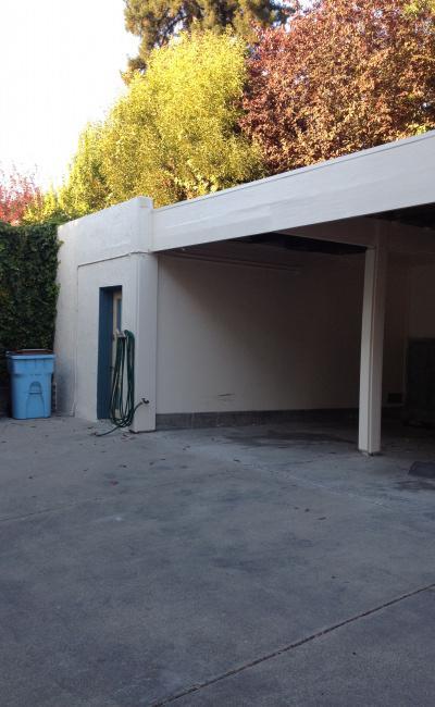Carport parking on Arch Street in Berkeley