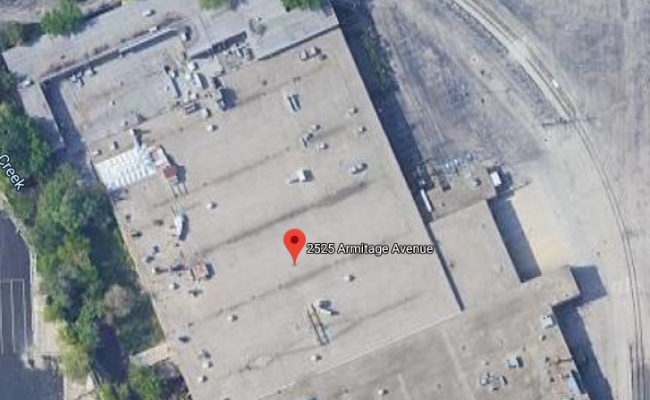 Outdoor lot parking on Armitage Avenue in Melrose Park