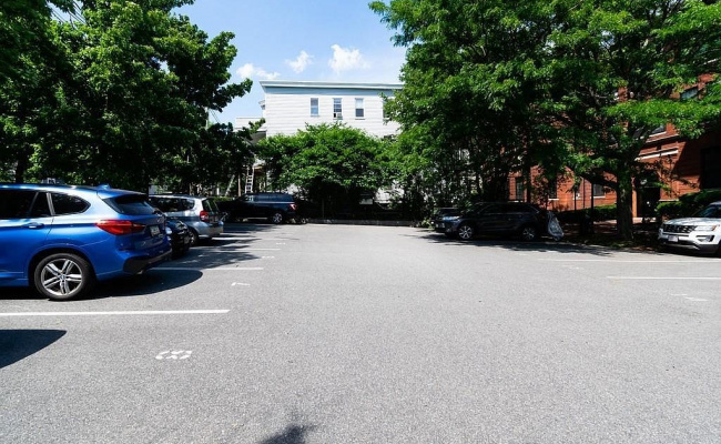 Outdoor lot parking on Atherton Street in Somerville