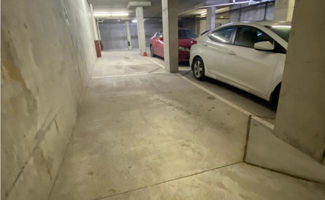 Garage parking on Aurora Avenue North in Seattle
