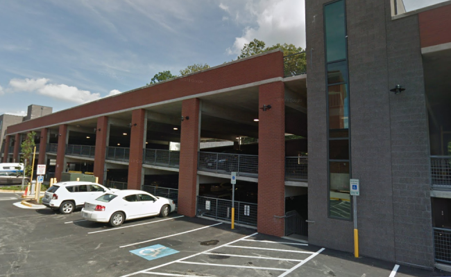Garage parking on Baltimore Ave in College Park