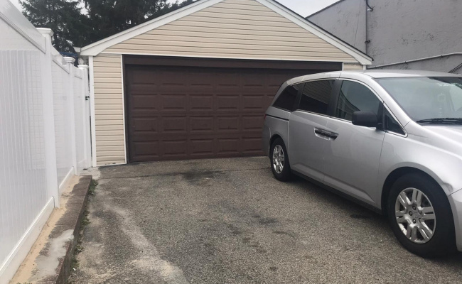 Garage parking on Boden Avenue in Valley Stream