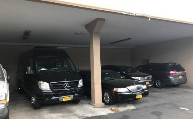 Covered parking on Boynton Pl in Brooklyn