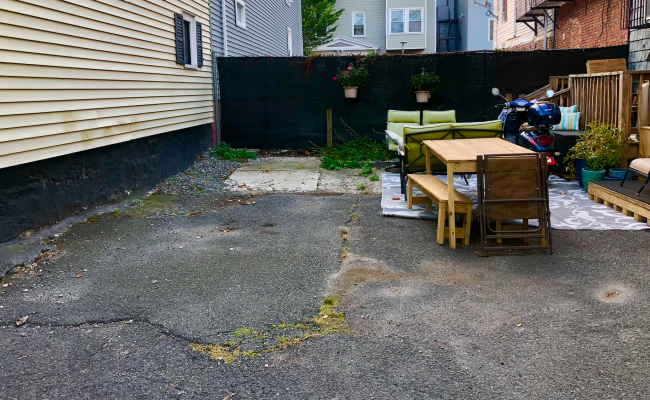 Outdoor lot parking on Bunker Hill Street in Charlestown