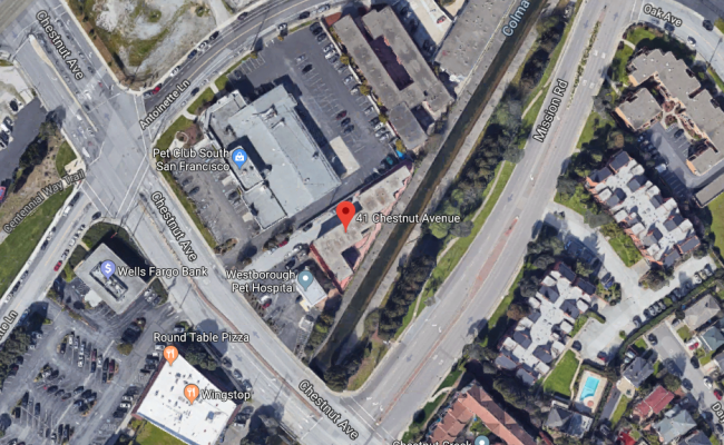 Indoor lot parking on Chestnut Ave in South San Francisco