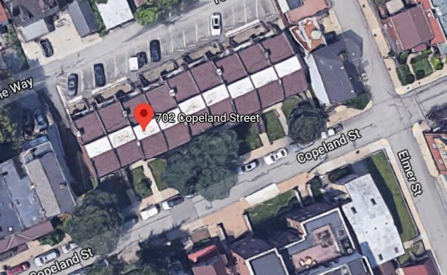 Garage parking on Copeland Street in Pittsburgh