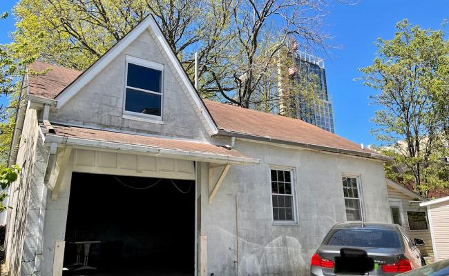 Garage parking on Franklin Avenue in New Rochelle