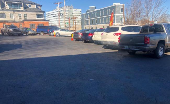 Outdoor lot parking on Hancock Street in Quincy