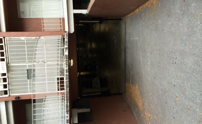 Garage parking on Hillegass Avenue in Berkeley