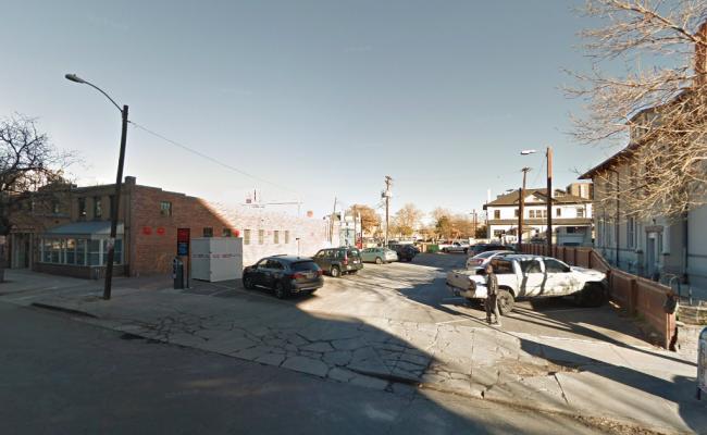 Outside parking on Humboldt St in Denver