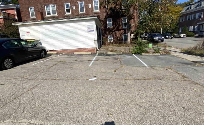 Outside parking on Ives Street in Providence