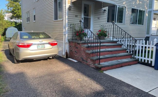 Driveway parking on Litchfield Street in Boston