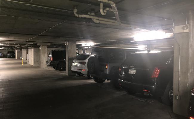 Garage parking on Little Raven Street in Denver