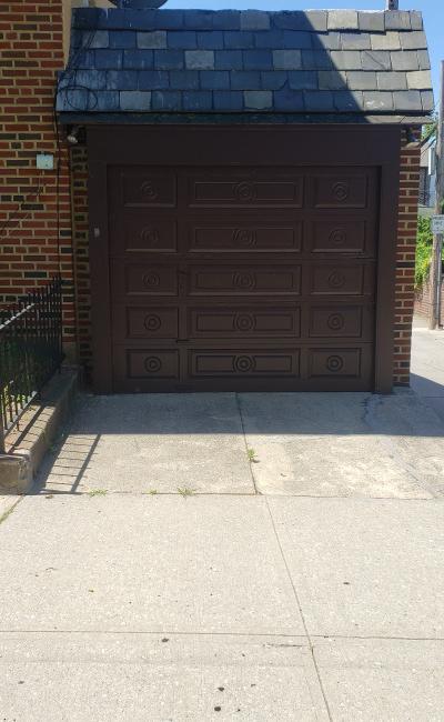 Garage parking on Louise Terrace in Brooklyn