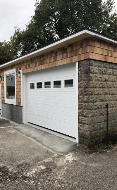 Garage parking on Newton Street in Waltham