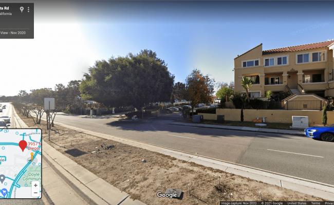 Outdoor lot parking on Nobel Drive in San Diego