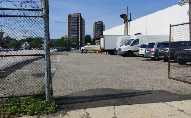 Outdoor lot parking on Orange Street in Newark