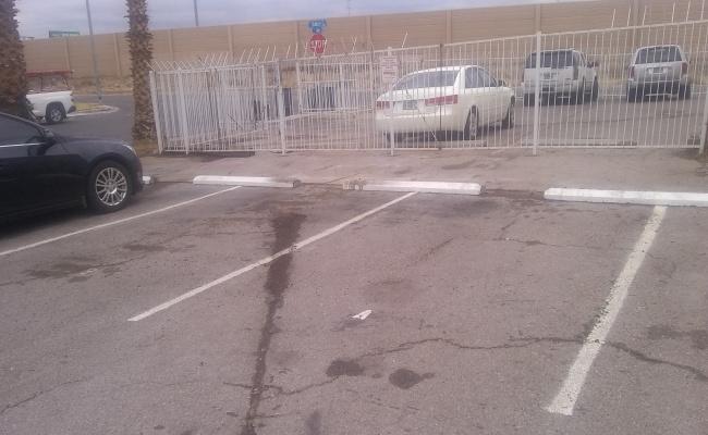 Driveway parking on Saturn Avenue in North Las Vegas
