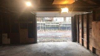 Garage parking on Shepard Drive in Dolton