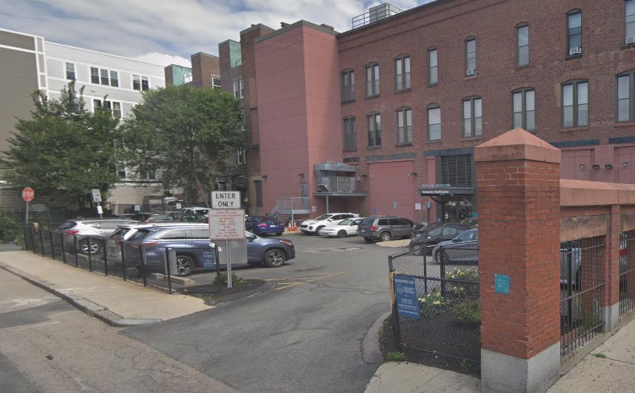 Outside parking on Silver St in Boston