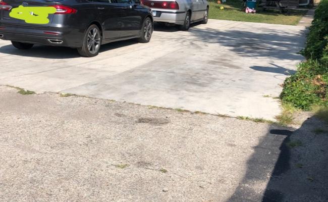 Outdoor lot parking on South Kolmar Avenue in Chicago