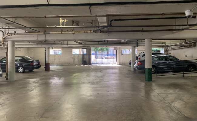 Garage parking on South Wetherly Drive in Los Angeles