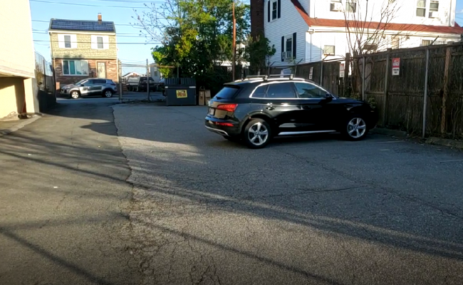 Outside parking on Squire Road in Revere