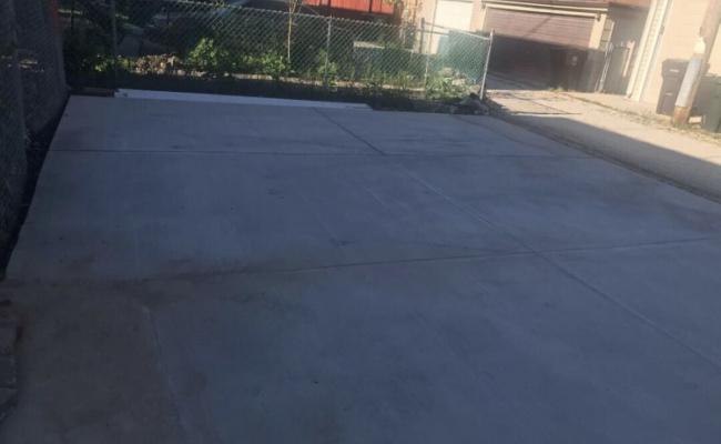 Outdoor lot parking on Trumbull Avenue in Skokie