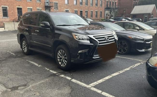 Outdoor lot parking on Wayne Street in Jersey City