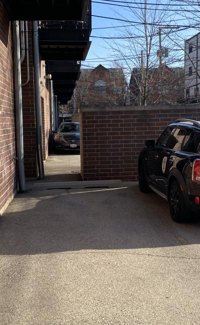 Outdoor lot parking on West Diversey Parkway in Chicago