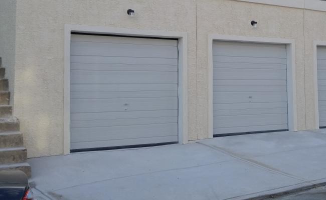 Garage parking on West Jefferson Street in Philadelphia