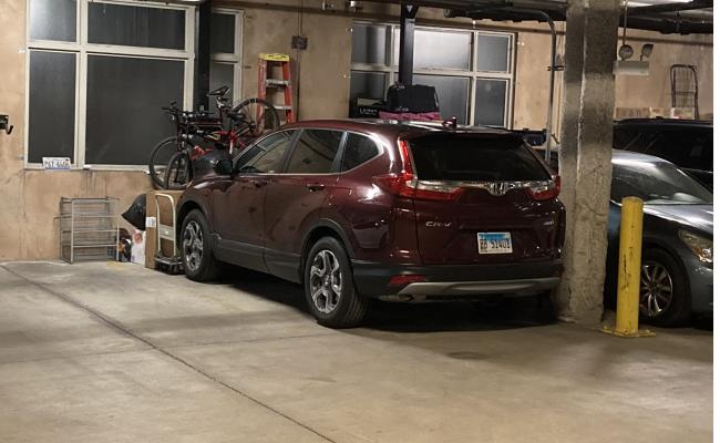 Indoor lot parking on West Monroe Street in Chicago