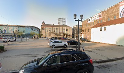 Outside parking on West State Street in Milwaukee