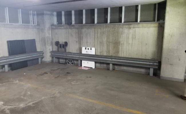 Indoor lot parking on West Van Buren Street in Chicago