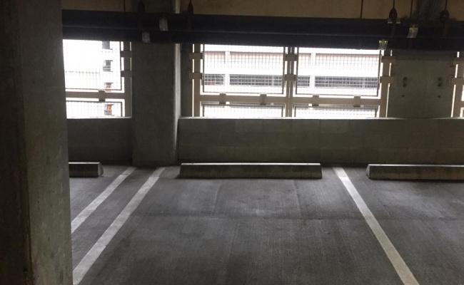 Indoor lot parking on Westlake Avenue in Seattle