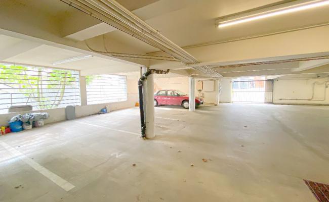 Garage parking on Whitman Avenue North in Seattle