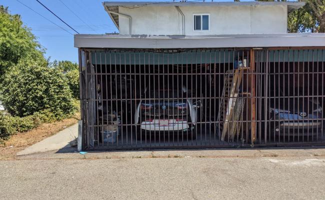 Garage parking on Woodman Avenue in Van Nuys