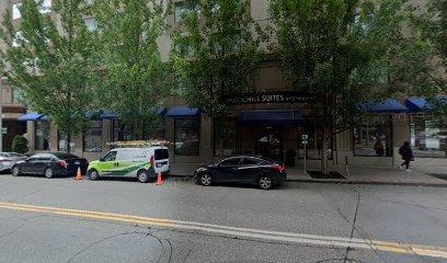 Garage parking on Yale Avenue in Seattle