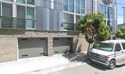 Garage parking on Zoe Street in San Francisco