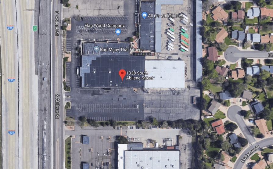 Outside parking on S Abilene St in Aurora