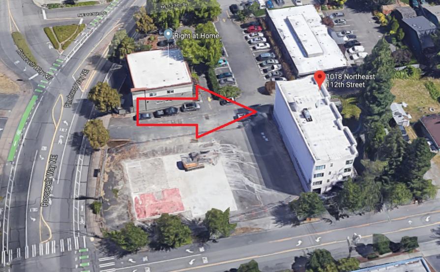 Parking Space parking on NE 112th St in Seattle