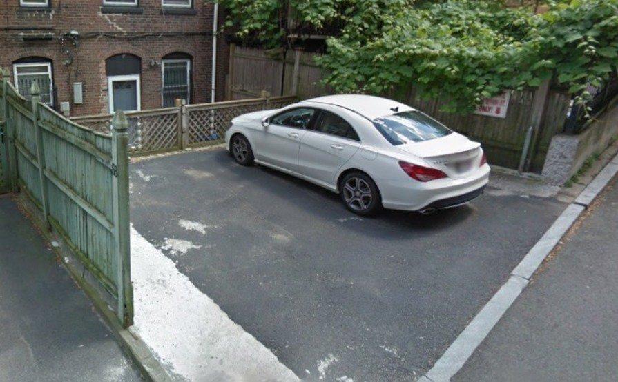 Outside parking on St Stephen St in Boston