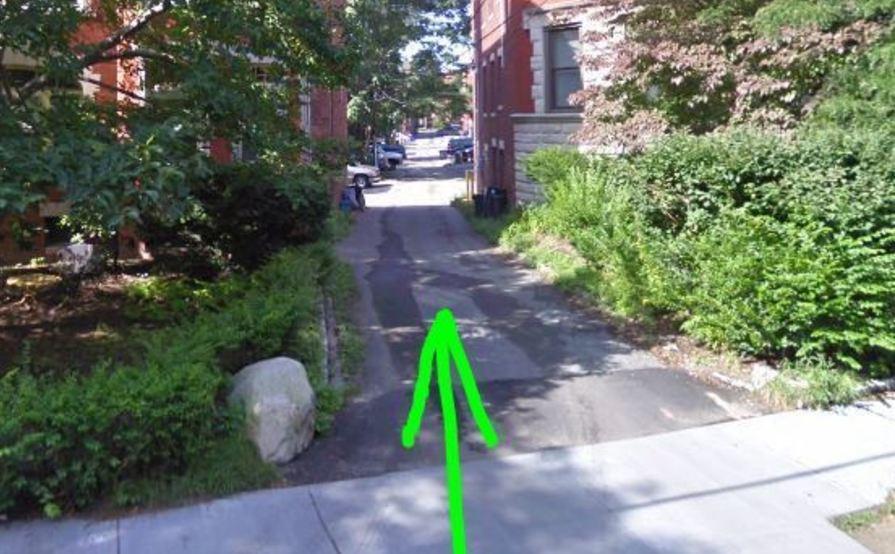 Outside parking on Beacon St in Brookline